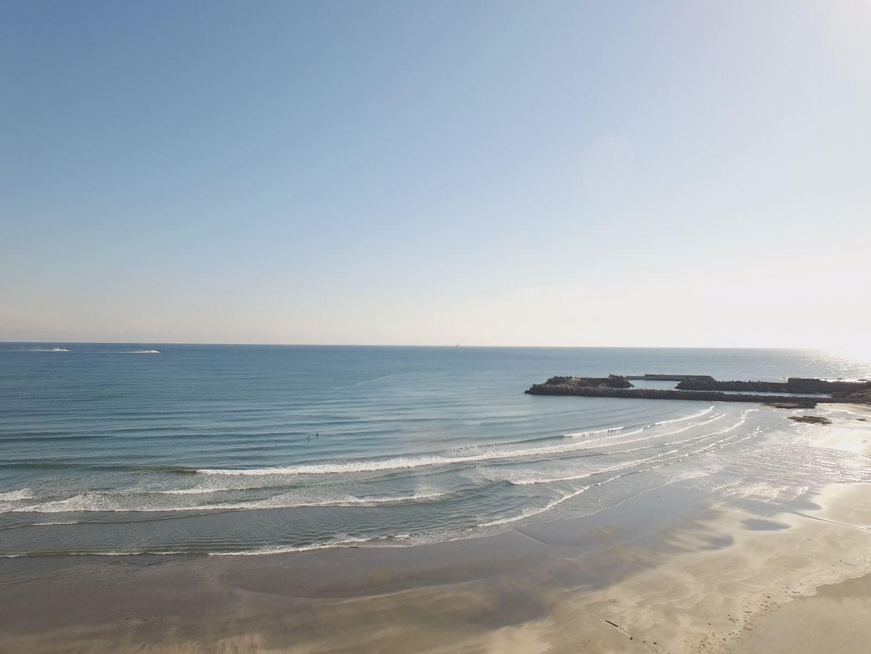 今日の波(お倉ヶ浜ライブカメラ)